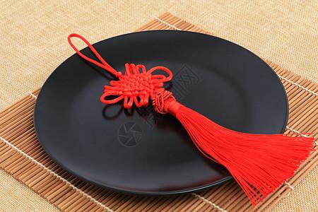 传统手工艺中国结特写图片