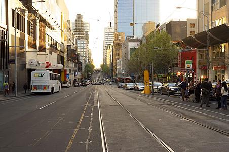 墨尔本的街图片