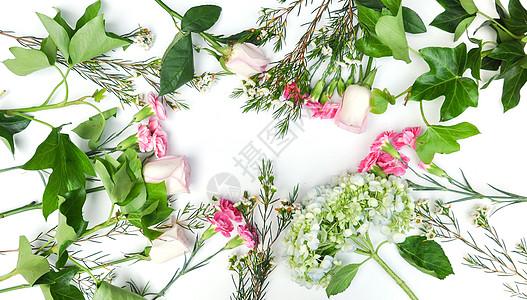 母亲节康乃馨玫瑰花朵背景图片