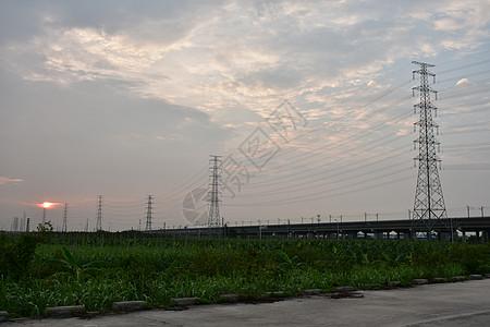 农村风光图图片