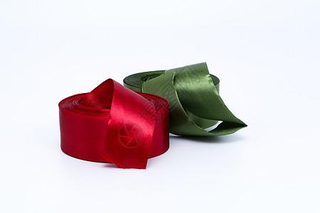 礼品包装丝绸缎带拉花素材图片