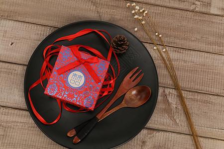 中国风结婚喜饼礼盒图片