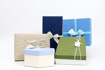 礼盒包装礼物摆拍图片