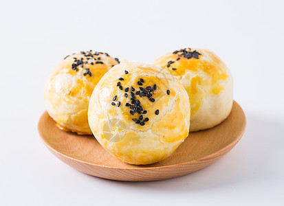手工蛋黄酥图片