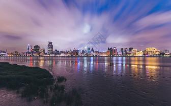 陆家嘴滨江大道外滩夜景图片