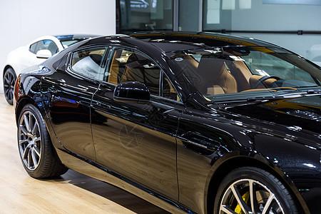 黑色轿车高级家用汽车图片