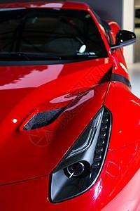 红色跑车高级豪华汽车图片