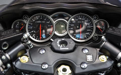 摩托车仪表盘速度激情效率图片