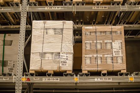 仓库货架购物节箱子包装图片