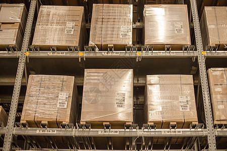 仓库货架购物节木料包装图片