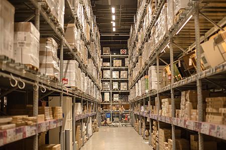 仓库货架购物节柜子箱子图片