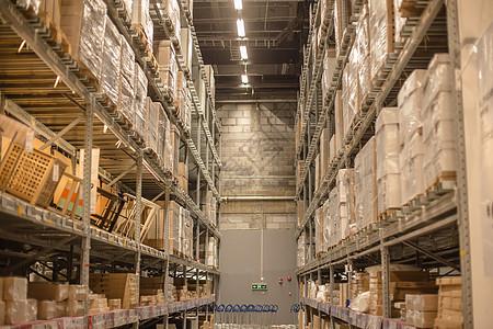仓库货架购物节箱子盒子图片