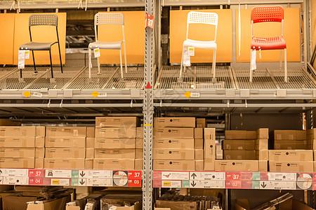 仓库货架购物节椅子盒子图片