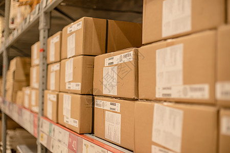 仓库货架购物节包装盒图片