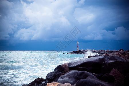 海岸线图片