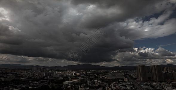 阴天乌云天空素材图片