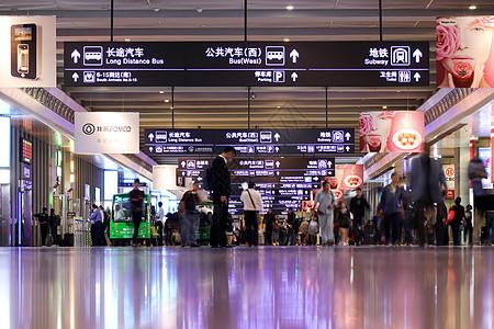 火车站机场人流图片