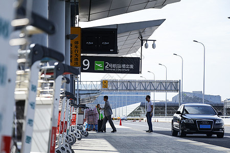 商务旅行机场接送服务图片