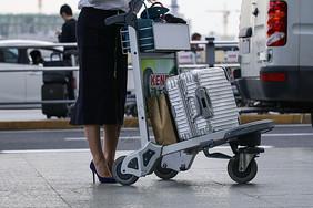 职业女性商务旅行图片