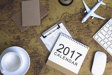 旅行出游计划地图配图图片