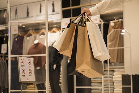 商场实体店门店消费购物图片