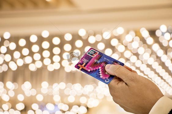 购物消费刷卡支付背景图片
