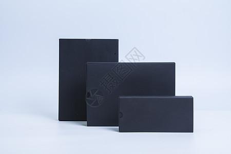 黑色手机平板包装盒图片