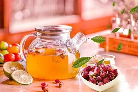 茶水玻璃杯图片