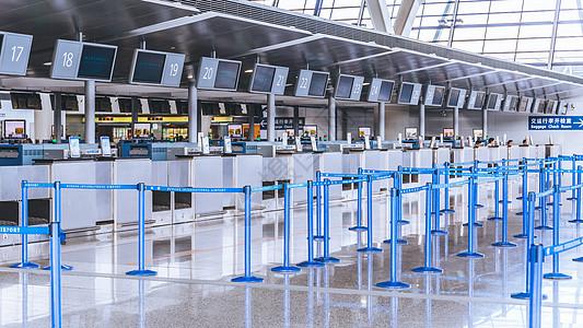 机场行李托运中心图片