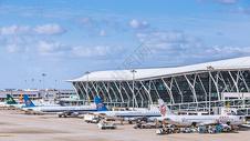 机场客机整体图图片