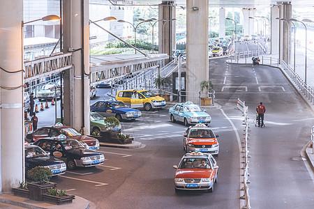 机场出租车等候专区图片