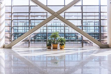 机场航站楼站内局部图片