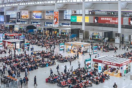 高铁火车站动车站休息区图片
