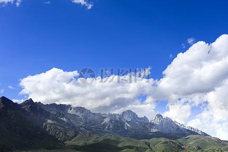 丽江玉湖村沿途风景图片