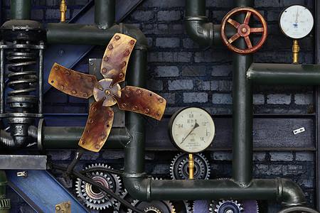 机械装饰图片