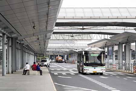 机场巴士候客区图片