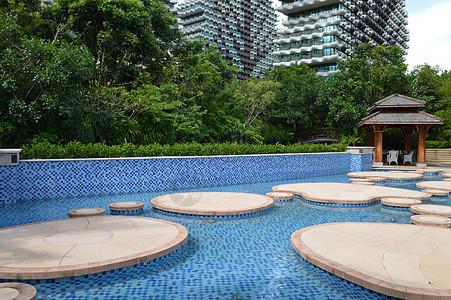 星光森林泳池图片