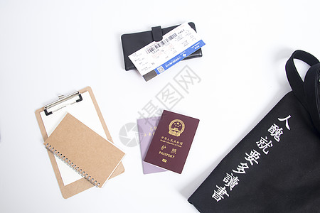 旅游旅行必备证件图片