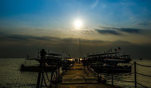 鱼排码头图片