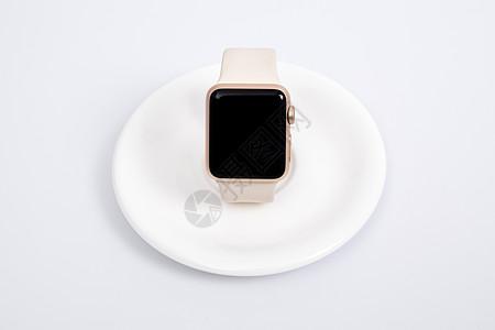 智能手表手环正面摆拍图片