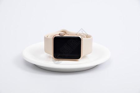 智能手表手环侧面摆拍图片