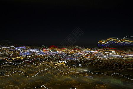 色彩波浪图片
