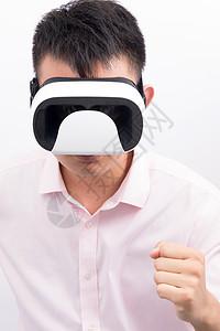 虚拟现实VR使用展示图片