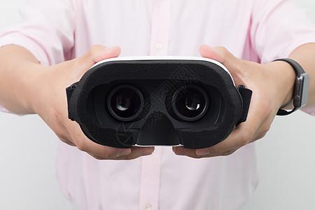 虚拟现实VR产品背面展示图片