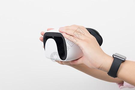 虚拟现实VR产品侧面展示图片