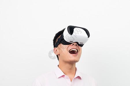 虚拟现实VR体验表情图片