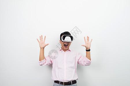 虚拟现实VR眼镜场景体验图片