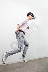 虚拟现实VR跳跃造型图片