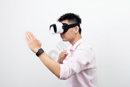 虚拟现实VR眼镜格斗造型图片