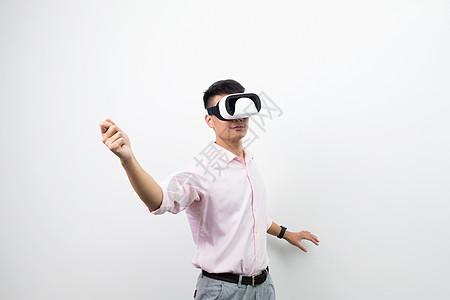 虚拟现实VR运动动作图片